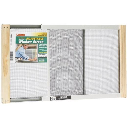 W.B. Marvin 10 In. x 15-25 In. Adjustable Window Screens by Frost King