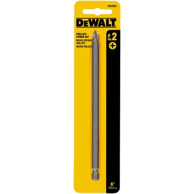 DeWalt Phillips #2 6 In. 1/4 In. Power Screwdriver Bit