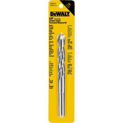 DeWalt 5/8 In. x 6 In. Masonry Drill Bit