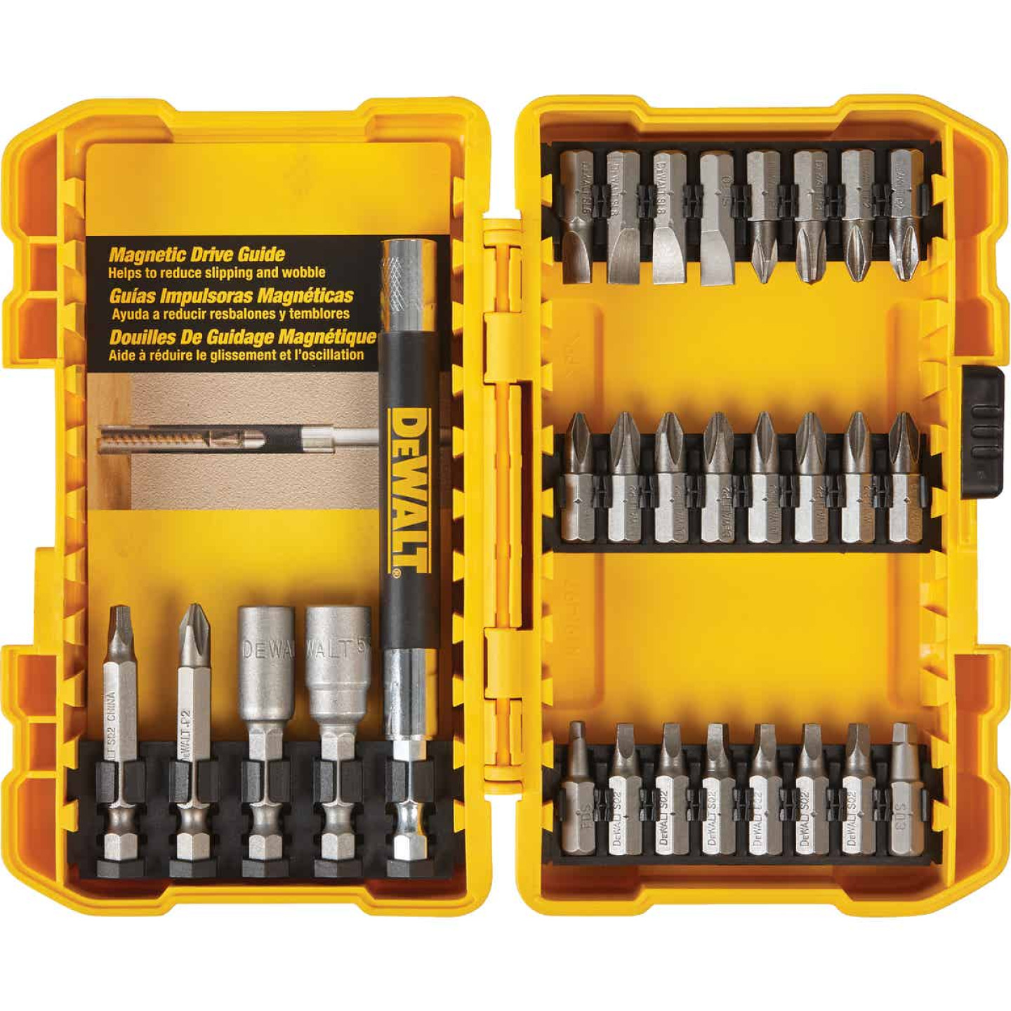 DeWalt 29-Piece Screwdriver Bit Set Image 1