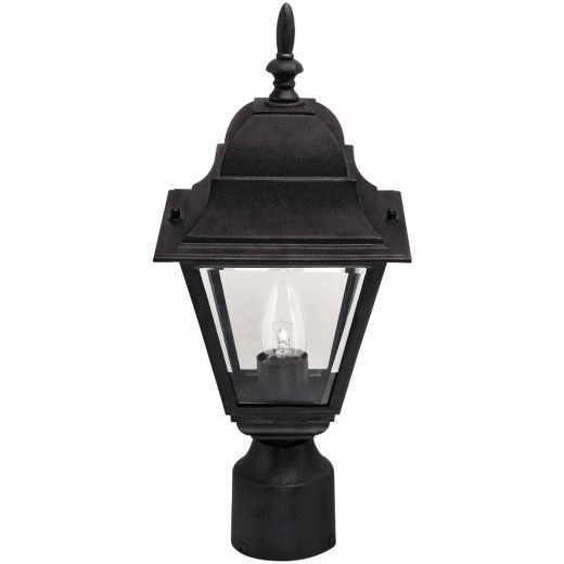 Home Impressions Black Incandescent Post Light Fixture