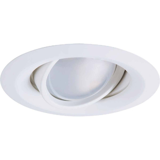 Halo 5 In. White Eyeball Recessed Fixture Trim