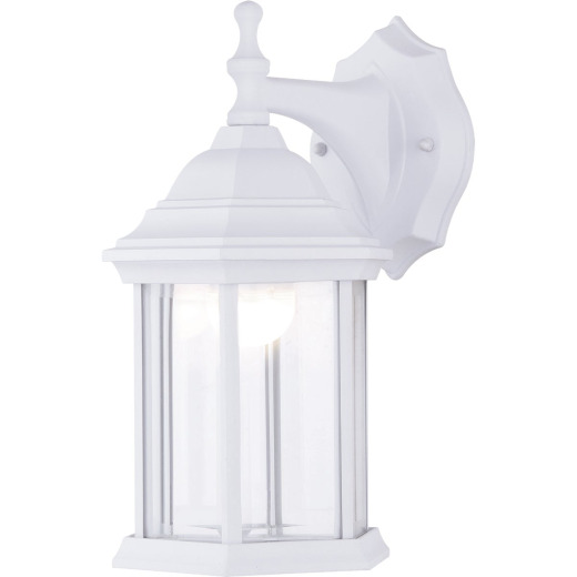 Canarm White LED Outdoor Wall Fixture