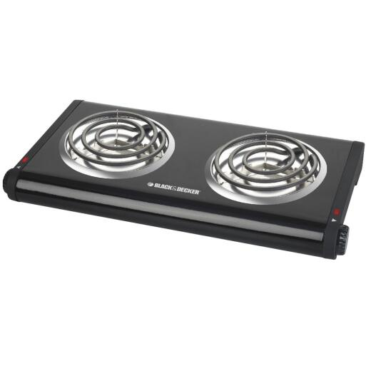 Black & Decker Double Coiled Burner Range