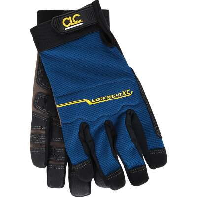 CLC Workright XC Men's Large Synthetic Leather Flex Grip High Performance Glove