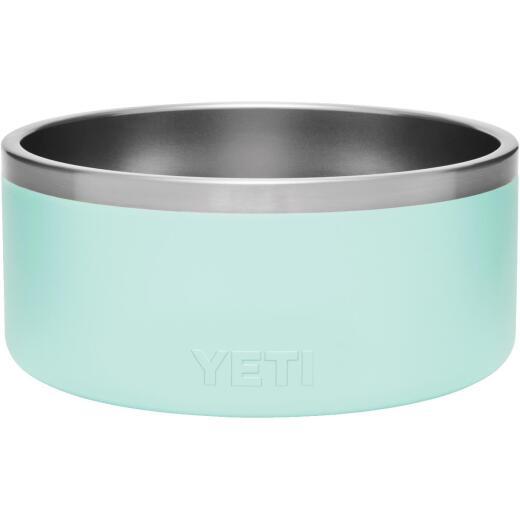 Yeti Boomer 8 Stainless Steel Seafoam Dog Food Bowl